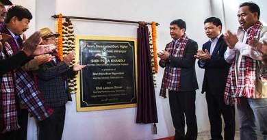 Arunachal: Khandu inaugurates school building in Jairampur
