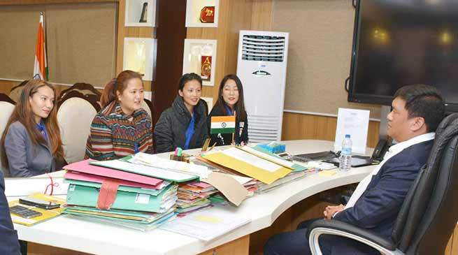 Arunachal:  Khandu appreciates the social works of United Charity