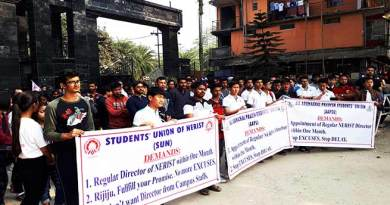 Arunachal: Student's Union of NERIST demand permanent director