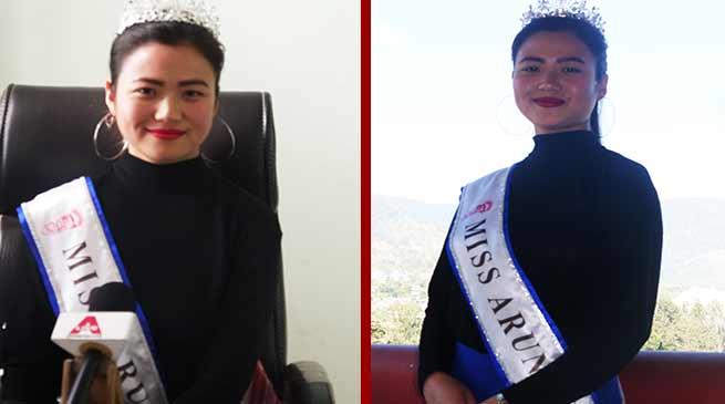 Itanagar: Miss Arunachal Osin Mosu will represent India in IIGF