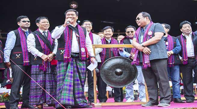 Arunachal: Pema Khandu declares Pangsau Pass International Festival open