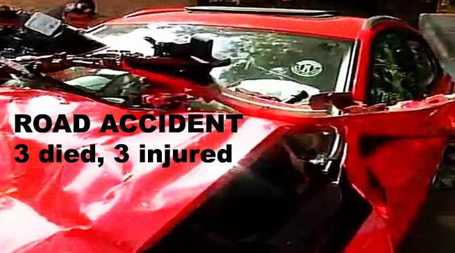 Arunachal: 3 dies in road accident, Khandu expressed Shock