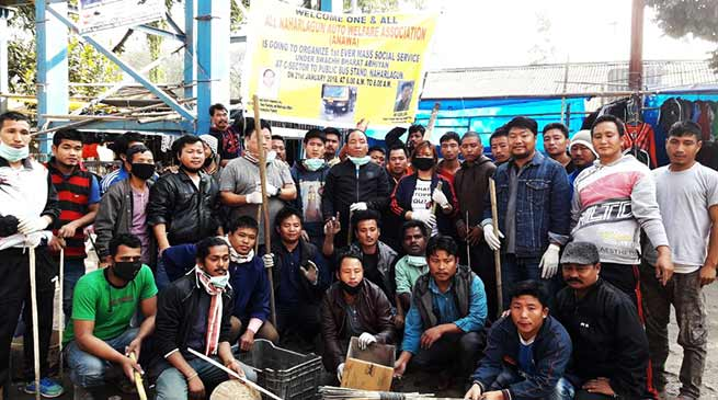 Arunachal: Auto Welfare Association organises social services