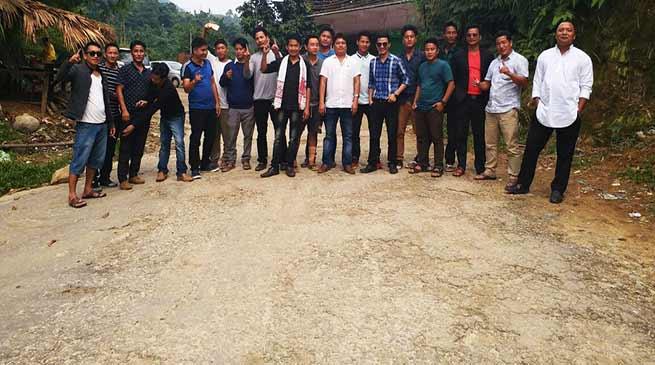 Arunachal: USIYF visit Itanagar to Jote road