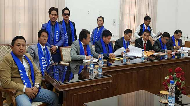 People of Arunachal never accept citizenship to Chakma-Hajong: AAPSU