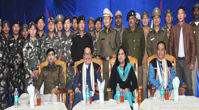 Arunachal: Strengthen the IB of the State Police- Chowna Mein