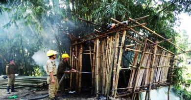 Itanagar:  people appreciates fire fighter's prompt action