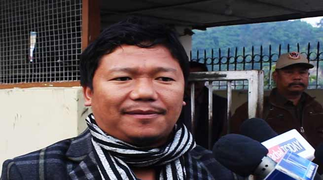 Itanagar: Meeting on Chakma-Hajong was unsuccessful-Hawa Bagang