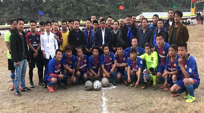 Arunachal: Inter village football tournament begins at Kalaktang
