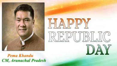 Photo of Arunachal: Republic Day Message from Chief Minister Pema Khandu