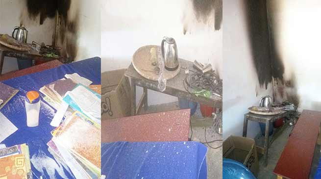 Arunachal: Miscreant tried to set ablaze Dobum Middle School Office
