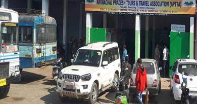 Itanagar: Tata Sumo stand shifted in APSTS Station campus