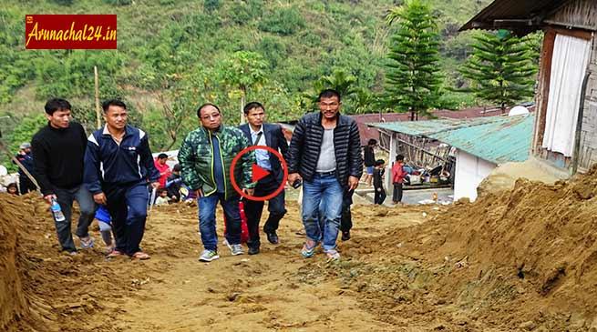 Itanagar residents raises developmental issues before Techi Kaso