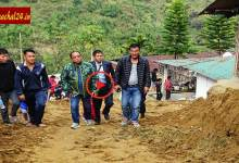 Itanagar residents raises developmental issues before Techi Kaso