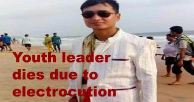 Arunachal: Youth leader Sonu Regisow dies due to electrocution