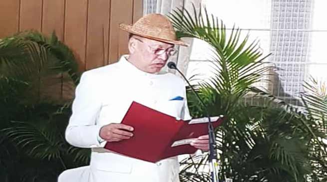 Arunachal: Khandu Cabinet expands by inducting Jarkar Gamlin