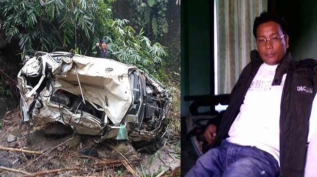 Arunachal: ZPM Lengang Lowang dies in a road accident