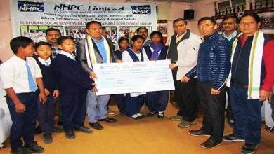 Photo of Arunachal: NHPC distributes Scholarship to Students of Govt Schools