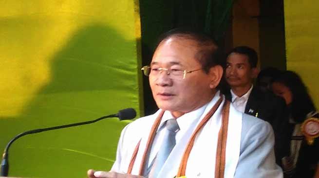 Nabam Tuki shows concern on rising crime in Arunachal