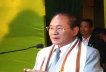 Photo of Nabam Tuki shows concern on rising crime in Arunachal
