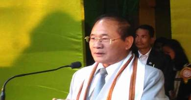 Nabam Tuki shows concern on rising crime in Arunachal