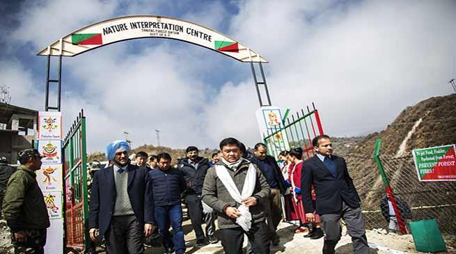 Arunachal: Khandu inaugurates Nature Interpretation Centre in Tawang