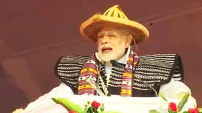 PM Modi lauds Pema Khandufor developing Arunachal Pradesh