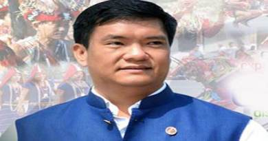 Arunachal : Khandu Congratulates PM Modi for Landmark Victory