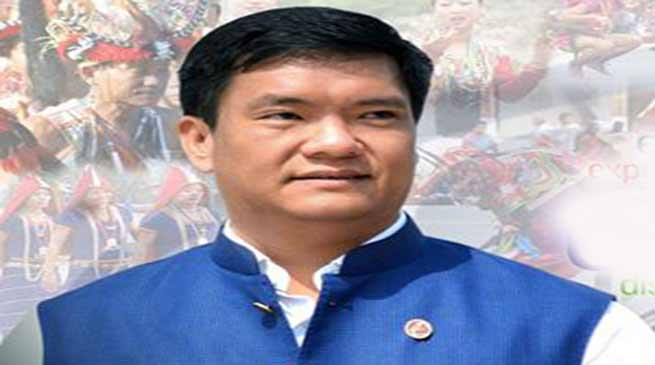 Arunachal CM files defamation case against Samchung Flago