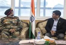 Photo of 4 Corps GOC Lt Gen GS Sangha calls on Arunachal CM