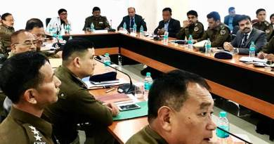 Arunachal: State security scenario reviews in SPs & COs conference