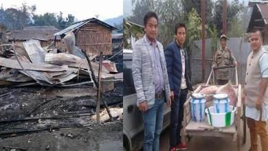 Photo of Arunachal: SUMAA-USU team visits Fire mishap victims at Daporijo