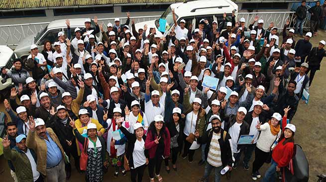Arunachal: 2 day Training for Swachhgrahis  concludes