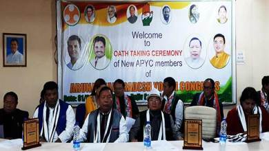 Photo of Arunachal: IYC appoint new APYC president