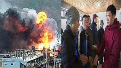 Photo of Arunachal: Khandu meets Dirang fire mishap victims