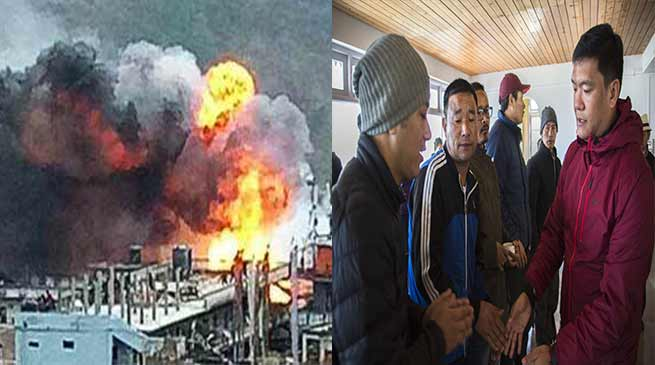 Arunachal: Khandu meets Dirang fire mishap victims