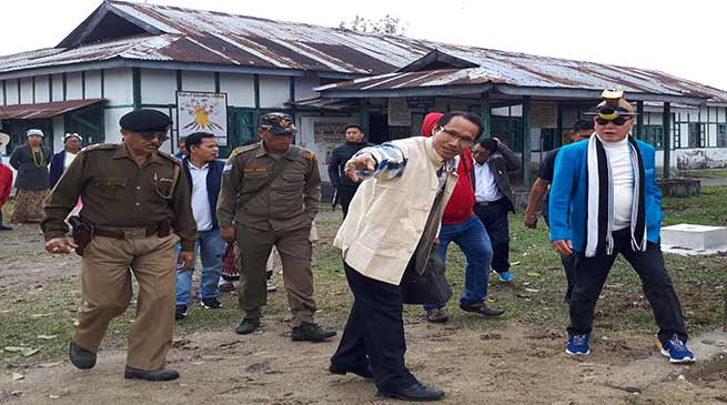 Arunachal : Nabam Rebia concern on non starting of Hospital construction