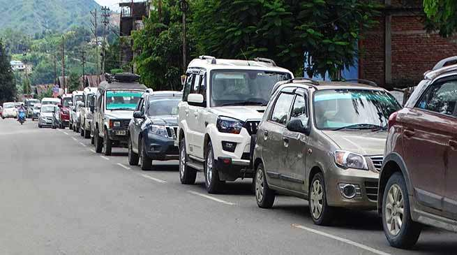 Arunachal: New Traffic rule in Itanagar-Naharlagun Route