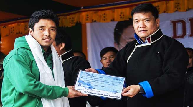 Arunachal is on right track under PM Modi- Pema Khandu