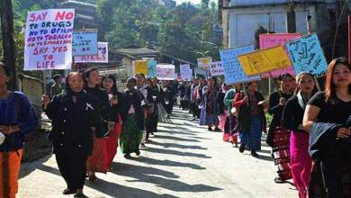Photo of Arunachal:  Mass Rally against Kani and Drug Abuse