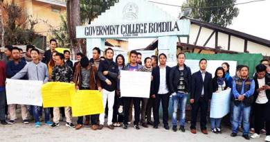 Arunachal: Colleges shutdown in support of NERIST students ongoing protest