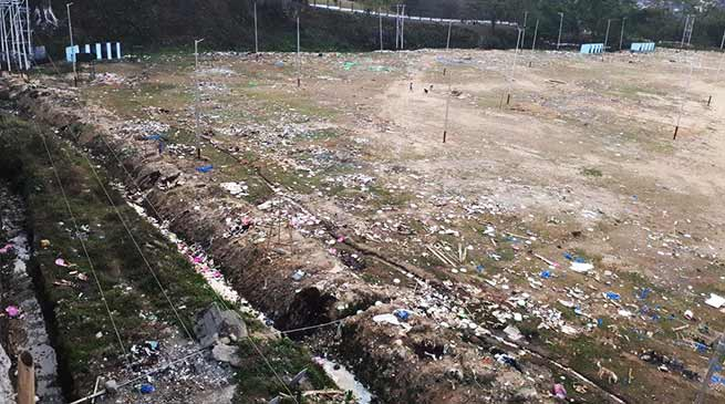 Itanagar: IG park turns in to a mockery of Swachh Bharat Abhiyan