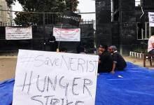 Photo of Arunachal: NERIST Students on hunger strike