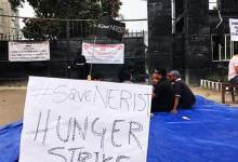 Photo of Arunachal: NERIST Students on hunger strike