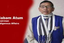 Photo of Arunachal: Nabam Atum appointed as Chairman of Indigenous Affairs