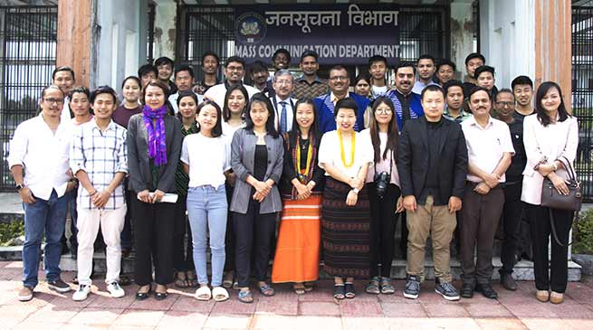 Arunachal : National Science Film Making Workshop Gets Underway at RGU