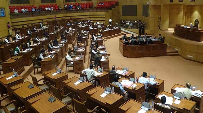 State Legislative Assembly passed the Arunachal Pradesh Land Settlement and Records Amendment Bill, 2018
