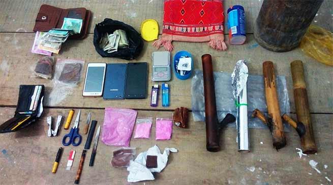 Arunachal : Namsai police seizes contraband materials