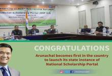Photo of Arunachal : Khandu launches National Scholarship Portal