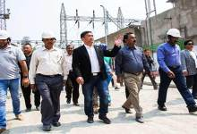 Arunachal: Khandu visits 110 MW Pare Hydro Project Site